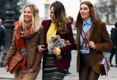 les 3 dames - Paris Fashion Week Fall 2012