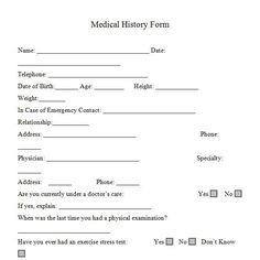 doctors medical form - 651×652