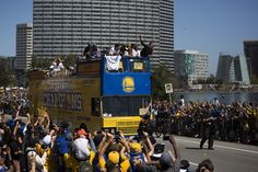 Warriors Celebrate and Celebrated at Championship Parade   Golden State Warriors