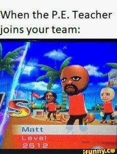 Matt really be wildin' -Lasagna Boy matt nintendo memes wii wiisports wiimemes basketball beach island level 2512 Really Funny Memes, Stupid Funny Memes, Funny Relatable Memes, Funny Posts, Memes Humor, Jokes, Quality Memes, Sports Memes, School Memes