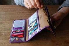 Leather Anti Skimming Wallet v2