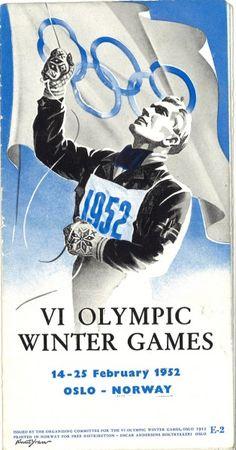 VI Winter Olympics 1952 Oslo / Nationaal Archief