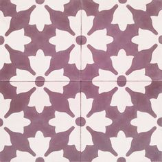 Floral design,Authentic ,Hydraulic Andalusian Tiles for both the floor and wall. MOD-126-B