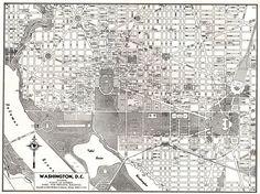 10 Best Vintage Washington Dc Images On Pinterest Map Of