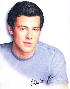 Cory Monteith - Drawing by Live4ArtInLA.deviantart.com on @deviantART