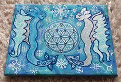 Winter joyous dragons