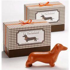 Novelty Soap | Decorative Soap | Animal Soaps | Dachshund | French-Milled | Gianna Rose Atelier®