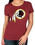 "Washington Redskins Women's Majestic NFL ""Skinny Post"" Short Sleeve T-shirt"