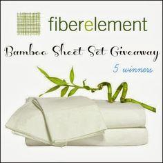 So Sew Mama: Fiber Element Bamboo Sheet Set Giveaway!