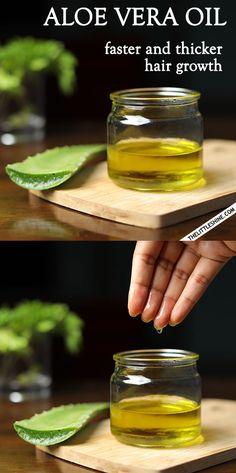 HOW TO MAKE ALOE VERA OIL