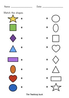 How To Teach Basic Shapes To Preschoolers - The Teaching Aunt