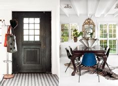 The door and the floor tile?! And see that enchanting table upon entering?? Amazing