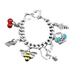 Ladies Fashion Charm Bracelet D5 Watch Pump Purse Glass Silver Tone Recyclebabe Bracelets http://www.amazon.com/dp/B0120RV9E6/ref=cm_sw_r_pi_dp_KDcRvb02NNPS0