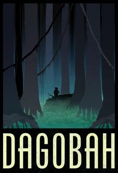 Dagobah Fantasy Travel Poster at Allposters.com at AllPosters.com