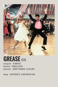 Grease polaroid poster