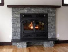 slate fireplace images - Google Search