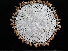 Vintage Beaded Doilies//Vintage Jug Covers by Waitingforgeorge on Etsy Doilies Crochet, Beaded Crochet, Cotton Crochet, Crochet Hats, Plastic Beads, Milk Jug, Star Shape, Crotchet, Vintage Shops
