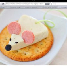 How cute would this look on a cheese tray?