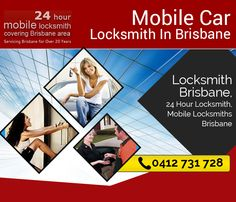 Locksmiths Brisbane has the key to every lock, literally. Our professionals specialize in coping up with accidentally locked out premises and vehicles. We ably cater to commercial and residential locksmith needs and stand adequate for executing ignition repair for automobiles.  Address: 148 Edinburgh Castle Road Wavell Heights QLD 4012 Phone: 0412 731 728