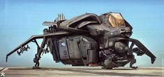 Killzone Shadow Fall Drop Ship by Mike Hill on ArtStation. Spaceship Concept, Concept Ships, Concept Cars, Killzone Shadow Fall, Mike Hill, Space Crafts, Wordpress, Artwork, Spaceships