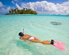 snorkeling. . . This will be happening after I found out how amazing it was in Coz!