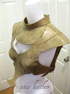 Replica Daenerys Armor Game of Thrones Season 2 by ANWLeather, $350.00