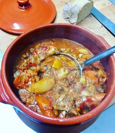 Schmortopf Landfrauen Art mit Fenchel, Karotten, Rinderhüfte, Zwiebeln, Knoblauch, etwas Orangenzesten und Chili. Zum Reinlegen