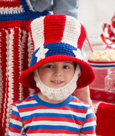 uncle sam beard and hat