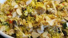 Viajar, Comer & Divertir-se: Couscous Marroquino de Frango e Vegetais