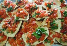Crostoni di pane guttiau e pomodorini #ricetta #recipe #ricettedisardegna #sardegna #sardinia