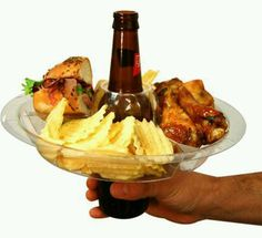 Beer plate...need these for Superbowl Party!