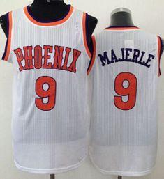 e5c9692f8 Suns  9 Dan Majerle White New Throwback Stitched NBA Jersey Throwback Nba  Jerseys