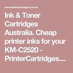 Ink & Toner Cartridges Australia. Cheap printer inks for your KM-C2520 - PrinterCartridges.com.au