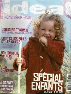 Photo : Knitting Magazine, Crochet Magazine, Knitting Books, Baby Knitting, Crochet For Kids, Knit Crochet, Baby Patterns, Knitting Patterns, Graphic Sweatshirt