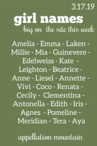 Find a Name for your Baby! - Amelia Baby Name - Ideas of Amelia Baby Name - Sunday Summary: All Things Irish & Dreaming of Baby Names Amelia Baby Name Ideas of Amelia Baby Name Mia Millie Amelia more trending on the site this week! Cool Unique Names, Baby Girl Names Unique, Pretty Names, Irish Baby Names, Fantasy Names, Name Inspiration, Celebrity Baby Names, Baby Name List, Book Writing Tips