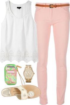 Michael Kors Watch, Jack Rodgers Shoes, and Lilly Pulitzer Phone Carrier