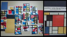 Pixels and Paintbrushes: Motivated by Mondrian