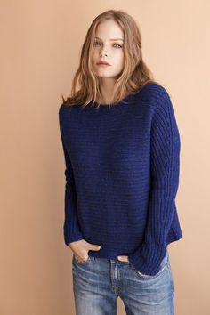 Cashmere sweaters, just for those comfy days around the house