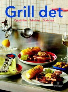 Boka inneholder forskjellige oppskrifter på grillmat man kan lage på gassgrill, kulegrill og ovnsgrill
