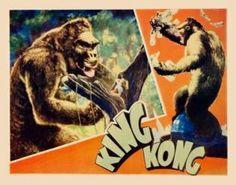 King Kong 1933 Lobby Card Style 4