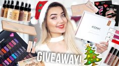 HUGE CHRISTMAS MAKEUP GIVEAWAY 2017!!! GIFT IDEAS! 🎄
