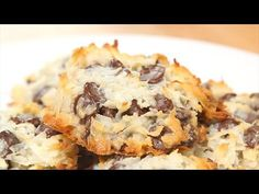 Almond Joy Cookies REMAKE RECIPE USING SUGAR FREE SWEETENED MILK AND SUGAR FREE CHOCOLATE CHIPS