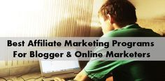 Best Affiliate Marketing Programs Marketing Program, Affiliate Marketing