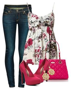 A fashion look from April 2013 featuring Sole Obsession pumps, Kate Spade handbags and Style Tryst earrings. Browse and shop related looks. Estilo Fashion, Fashion Moda, Cute Fashion, Look Fashion, New Outfits, Spring Outfits, Cool Outfits, Casual Outfits, Fashion Outfits