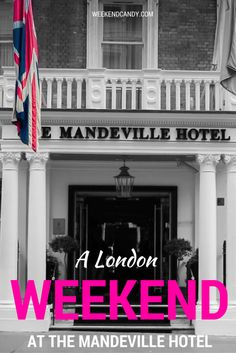 Heading to London for a theatre break? Looking for a unique and memorable boutique London hotel? The Mandeville Hotel could be just the thing - fashionable, friendly and central without being noisy and super-expensive. Click here for my full review! Perfect for fans of city breaks and London lovers!
