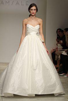 Brides: Flattering Wedding Dresses