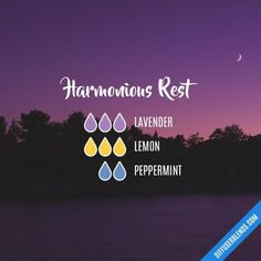 Harmonious Rest - Essential Oil Diffuser Blend | #essentialoils #essentialoilrecipes #healthy3d @healthy3d