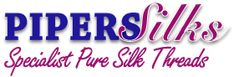 Specialist Pure Silk Thread suppliers, PIPERS SILKS. A small family business based in Suffolk, UK. Started about 30 years ago.