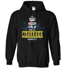 Keep Calm and Let lizarraga Handle It Noel 2015 - #tshirt sayings #tshirt serigraphy. BEST BUY => https://www.sunfrog.com/Valentines/Keep-Calm-and-Let-lizarraga-Handle-It-Noel-15-Black-Hoodie.html?68278