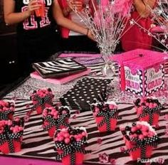 love the zebra print with pink and polka dots